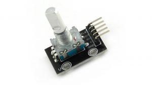 Moduł enkodera - impulsator z przyciskiem